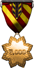 Service Commendation Gold